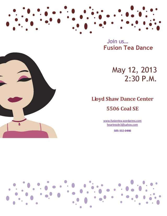 May dance 5 12 13 flyer